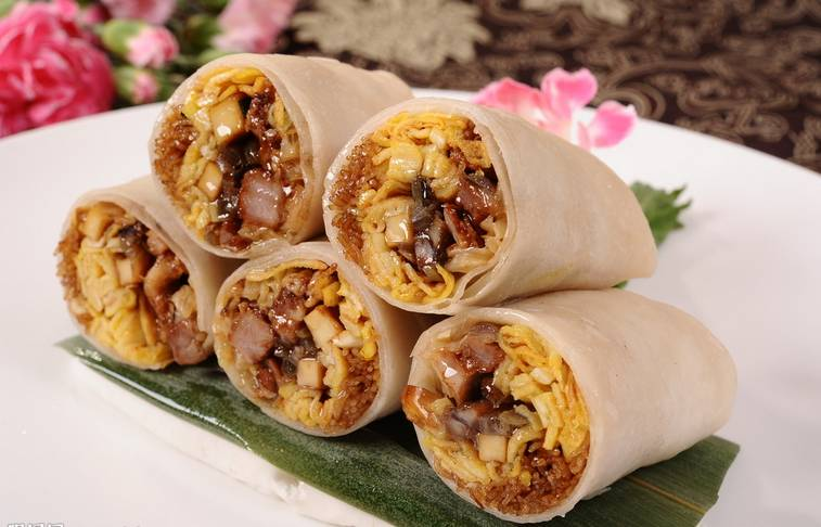 Mixed Pancake Wrap (Mai You Zhi)